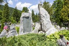 Memorial to Legionnaires in Zakopane Royalty Free Stock Photography