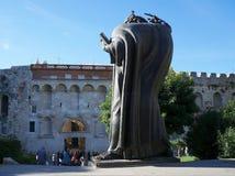 Memorial to monk Grgur from Nin Royalty Free Stock Photos