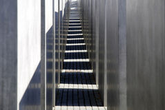 Memorial to the Murdered Jews in Berlin Stock Image