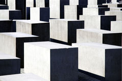 Memorial to the Murdered Jews in Berlin Stock Images