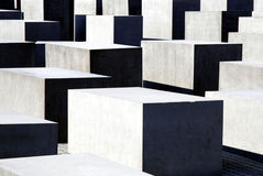 Memorial to the Murdered Jews in Berlin Royalty Free Stock Photos