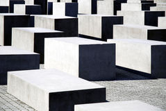 Memorial to the Murdered Jews in Berlin Royalty Free Stock Photography