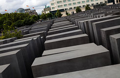 Memorial to the Murdered Jews of Europe. Royalty Free Stock Photography
