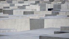 The Memorial to the Murdered Jews of Europe Stock Photos