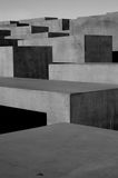 Memorial to the Murdered Jews of Europe Stock Image