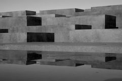 Memorial to the Murdered Jews of Europe Royalty Free Stock Photography