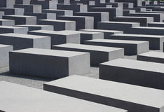 Memorial to the Murdered Jews Royalty Free Stock Photos