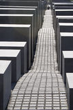 Memorial to the Murdered Jews of Europe. In berlin Stock Image