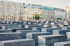 Memorial to the Murdered Jews of Europe, Berlin Royalty Free Stock Photography