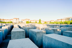 Memorial to the Murdered Jews of Europe, Berlin Royalty Free Stock Photo