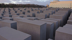 Memorial to the Murdered Jews of Europe, Berlin Stock Photography