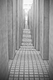 Memorial to the Murdered Jews of Europe in Berlin, Germany Royalty Free Stock Photography