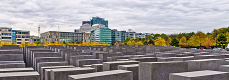 Memorial to the Murdered Jews of Europe in Berlin, Germany Stock Photos