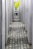 Memorial to the Murdered Jews of Europe in Berlin Stock Photos