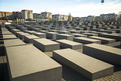 Memorial to the Murdered Jews of Europe Stock Photography