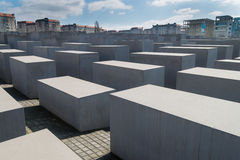 Memorial to murdered Jews in Europe Royalty Free Stock Photos