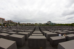 Memorial to the Murdered Jews of Europe, Berlin, Germany Stock Images