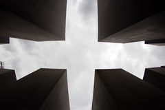 Memorial to the Murdered Jews of Europe, Berlin, Germany Royalty Free Stock Image