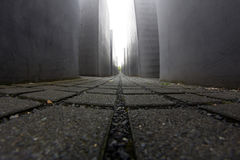 Memorial to the Murdered Jews of Europe, Berlin, Germany Stock Photos