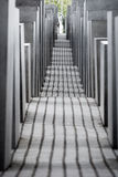 Memorial to the Murdered Jews of Europe, Berlin. Stock Photos