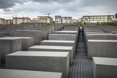 Memorial to the Murdered Jews of Europe in Berlin Royalty Free Stock Photos