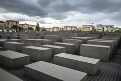 Memorial to the Murdered Jews of Europe in Berlin Royalty Free Stock Photography