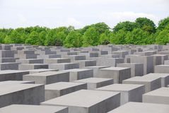 The Memorial to the Murdered Jews of Europe Royalty Free Stock Photo
