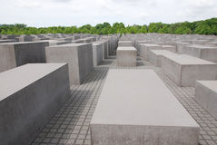The Memorial to the Murdered Jews of Europe Stock Photography