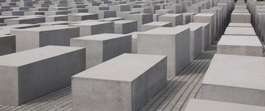 The Memorial to the Murdered Jews of Europe Royalty Free Stock Photography