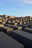 Memorial to the Murdered Jews of Europe (Holocaust) in Berlin Stock Photos