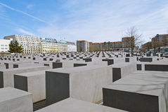 Memorial to the Murdered Jews of Europe Royalty Free Stock Images