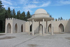 Memorial to Muslim soldiers in WW1 French Army, Verdun, France Royalty Free Stock Images
