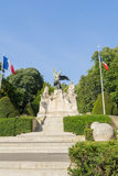 Memorial to people who died fighting war from town Beziers Royalty Free Stock Image