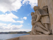 The Memorial to the Portuguese explorer Henry the Navigator on the waterfront in Lisbon the capital city of Portugal in Europe. Stock Photos