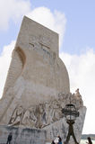 The Memorial to the Portuguese explorer Henry the Navigator on the waterfront in Lisbon the capital city of Portugal in Europe. Stock Photo