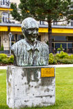 Memorial to Quincy Jones in Montreux Stock Images