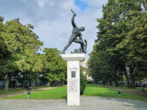 Memorial to Raoul Wallenberg in Budapest, Hungary Royalty Free Stock Image