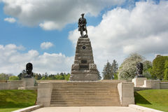 Memorial to the 51st Highland Division Royalty Free Stock Photography