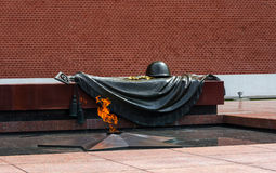 Memorial to tomb of Unknown Soldier Royalty Free Stock Photo