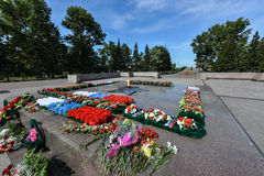 Memorial to the Unknown Soldier, Kirov Square Royalty Free Stock Photo