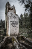 Memorial to Unknown Soldier WW1 Royalty Free Stock Image