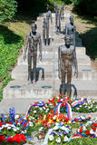 The memorial to the victims of communism, Petrin,  Prague, Czech Stock Photo