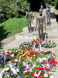 The memorial to the victims of communism, Petrin,  Prague, Czech Royalty Free Stock Photography