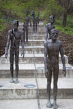 The Memorial to the victims of Communism. Sculptor Olbram Zoubek Stock Image