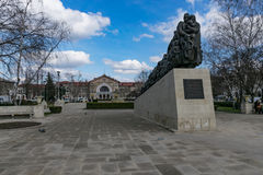Memorial to the Victims of the Communist Regime. CHISINAU, MOLDOVA - MARCH 2015: Victims of the Communist Regime in CHISINAU, Moldova in March 2015 Royalty Free Stock Photos