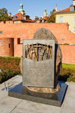 Memorial to victims of The Katyn massacre Royalty Free Stock Image