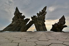 Memorial to the victims of Nazism. Ninth Fort. Kaunas. Lithuania Royalty Free Stock Images