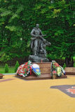 Memorial to Warrior – scout. Kaliningrad, Russia Stock Photography