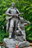 Memorial to Warrior - scout. Kaliningrad, Russia Stock Photography