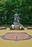 Memorial to Warrior  scout. Kaliningrad, Russia Royalty Free Stock Image